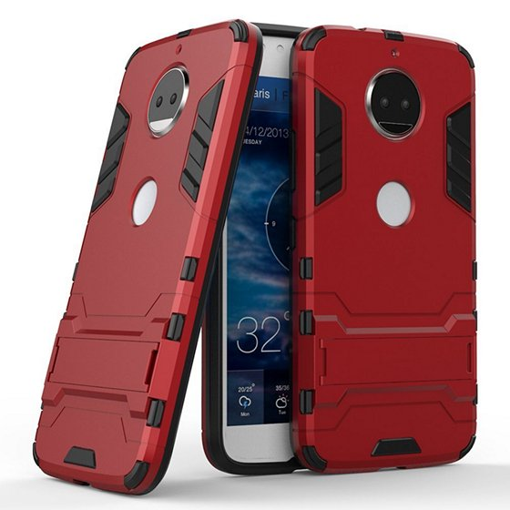 Dretal Armor Dual Layer Defender Case For Moto G5S Plus