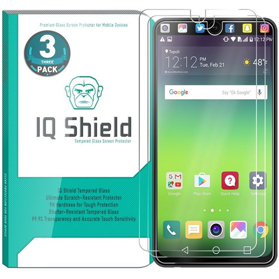 IQ Shield Ballistic Glass Screen Protector For LG V30