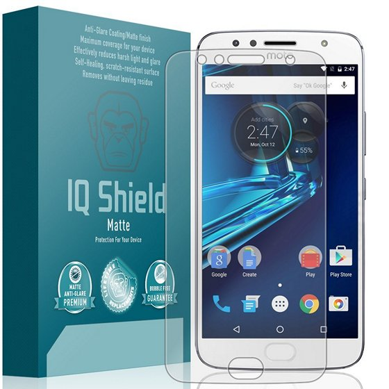 IQ Shield Full Coverage Screen Protector For Moto G5S Plus