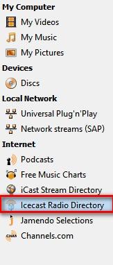 Icecast Radio Directory