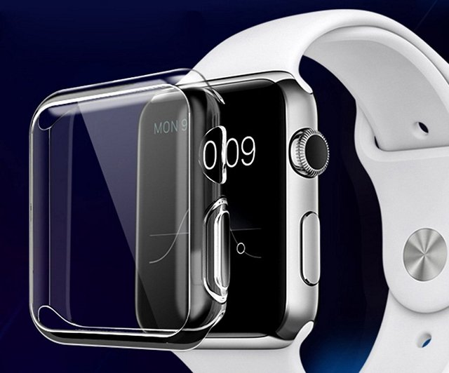 Julk TPU Screen Protector Case For Apple Watch