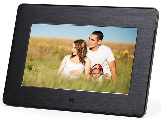 Micca M707z 7-Inch 800x480 High Resolution Digital Photo Frame