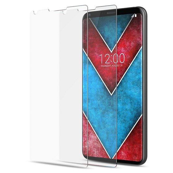 MoKo Premium HD Tempered Glass Screen Protector For LG V30
