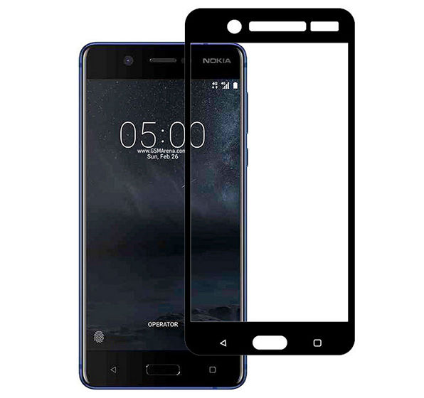 Newlike Nokia 5 Full Coverage Tempered Glass Screen Protector