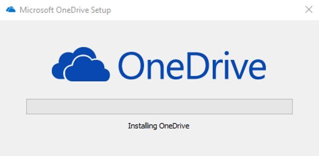 OneDrive Setup Install