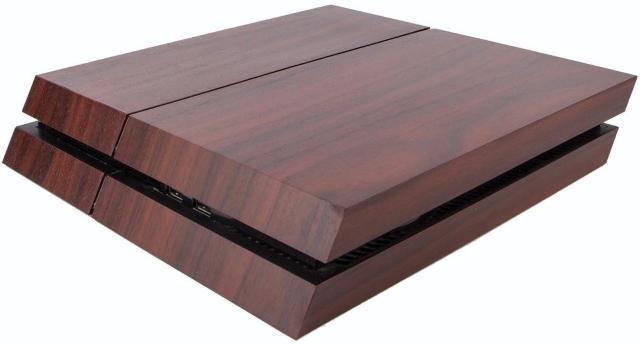 Premium PS4 Wood Effect Vinyl