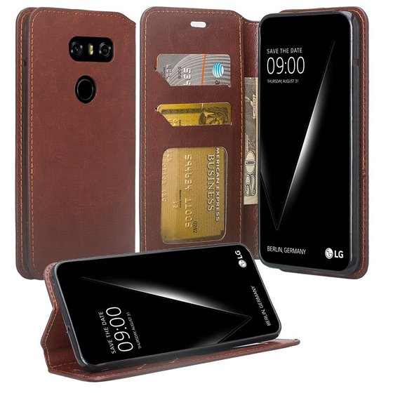 SOGA Wallet Flip Case For LG V30