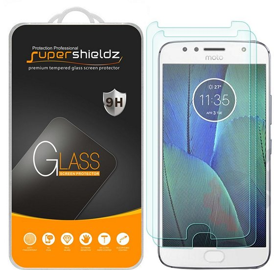 Supershieldz Tempered Glass Screen Protector For Moto G5S Plus