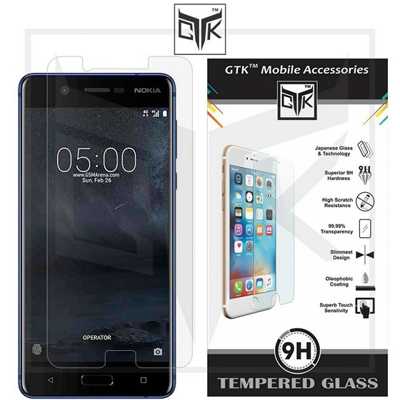TheGiftKart HD Tempered Glass Screen Protector For Nokia 5