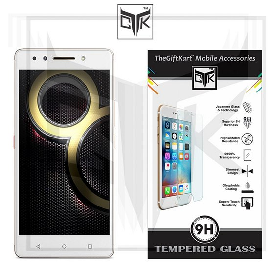TheGiftKart Tempered Glass Screen Protector For Lenovo K8 Note