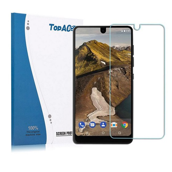 TopACE Tempered Glass Screen Protector For Essential Phone