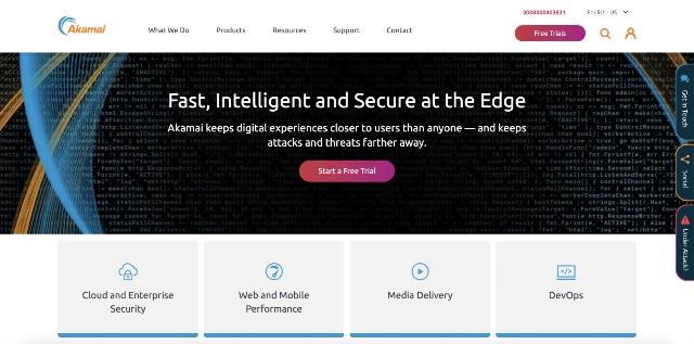 akamai - best cloudflare alternatives