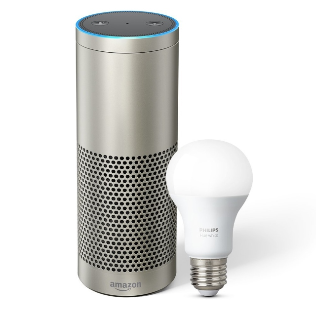 Amazon Echo Plus with Philips Hue Lighting