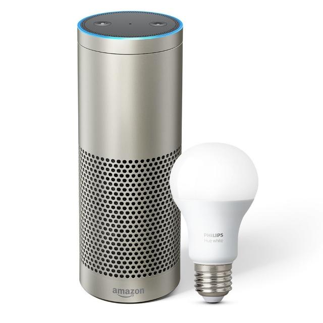 Amazon Echo Plus with Philips Hue Lighting