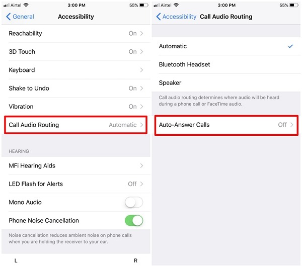 Auto Answer Calls in iOS 11 - 2