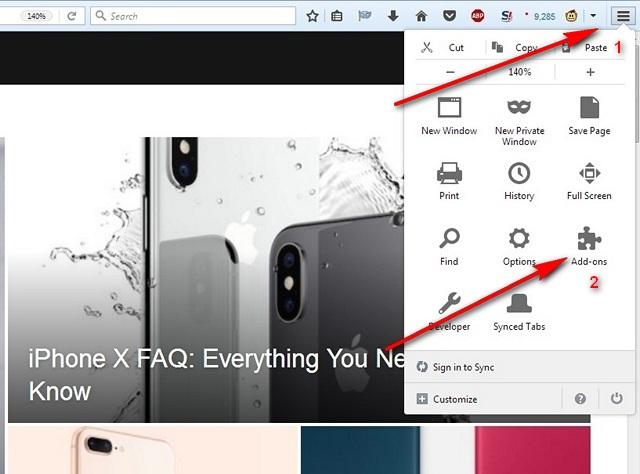 Firefox Addons Button Beebom Homepage 2 KK