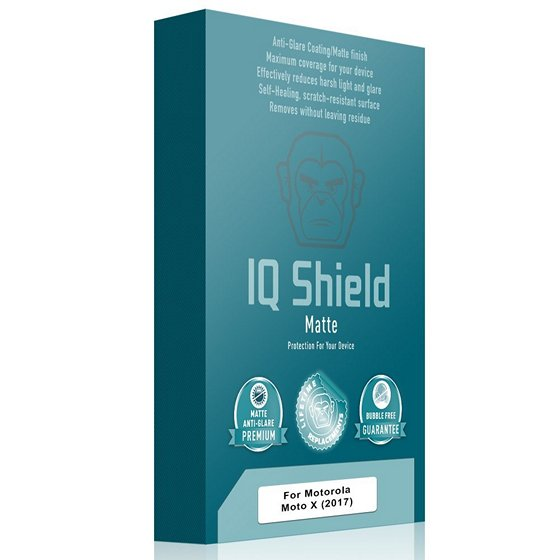IQ Shield Full Coverage Moto X4 Screen Protector