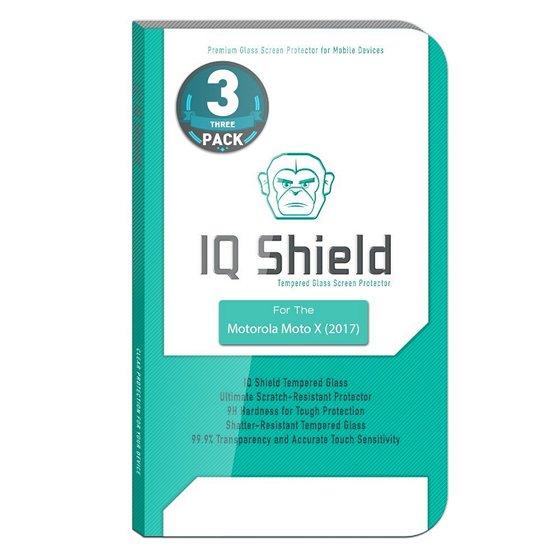 IQ Shield Moto X4 Ballistic Glass Screen Protector