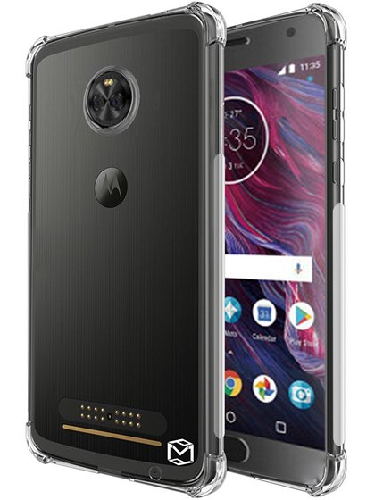 MP-Mall Flexible TPU Clear Case For Moto X4