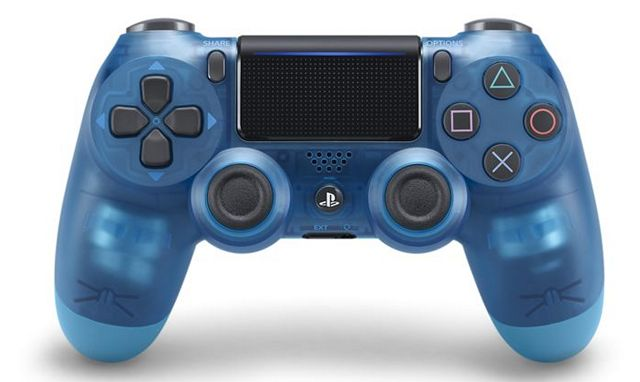 Sony DualShock 4 Controller Crystal Version