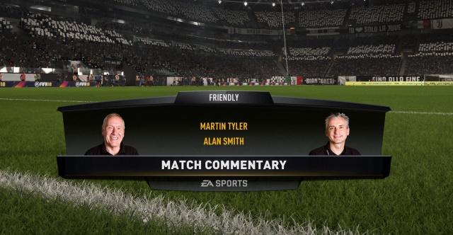 FIFA 18 Martin Tyler Alan Smith