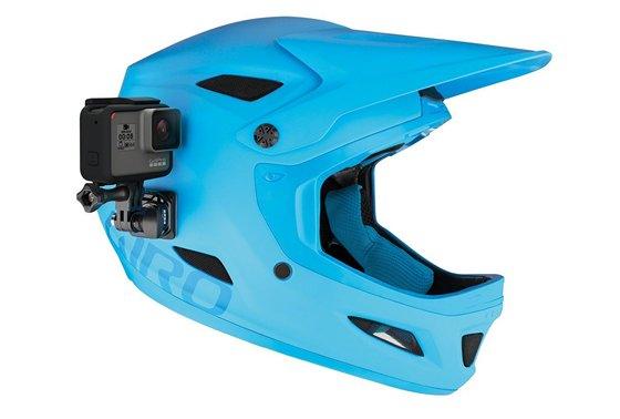 GoPro Helmet Front and Side Mount For Hero 6 Black