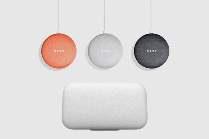 Google Home Max vs Google Home Mini