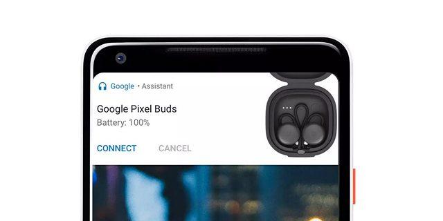 Google Pixel Buds Pairing