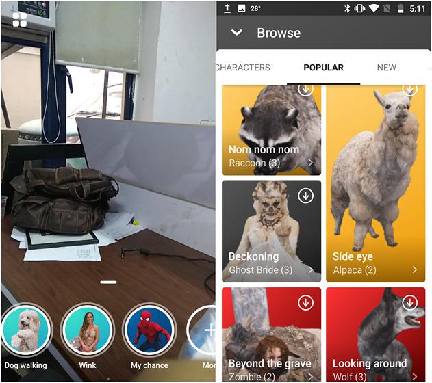 Come ottenere gli adesivi AR di Pixel 2 su qualsiasi dispositivo Android