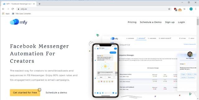 Messengerfy - Intercom Alternative