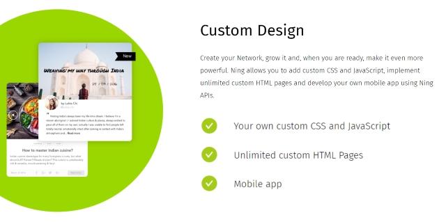 Ning Custom Design