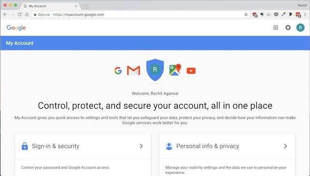 Setting Up Google Prompt For Two-Factor Authentication - step 1