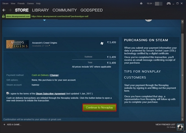 Steam Purchase - 4