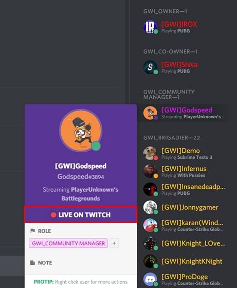 Twitch Stream Link
