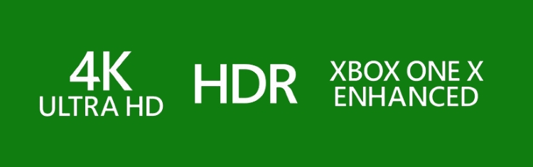 Xbox One X Enhanced Logo