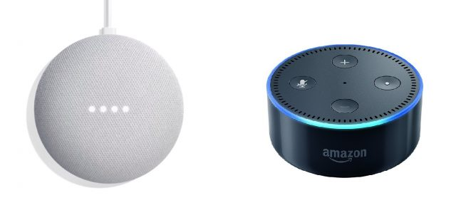 google home mini vs echo dot