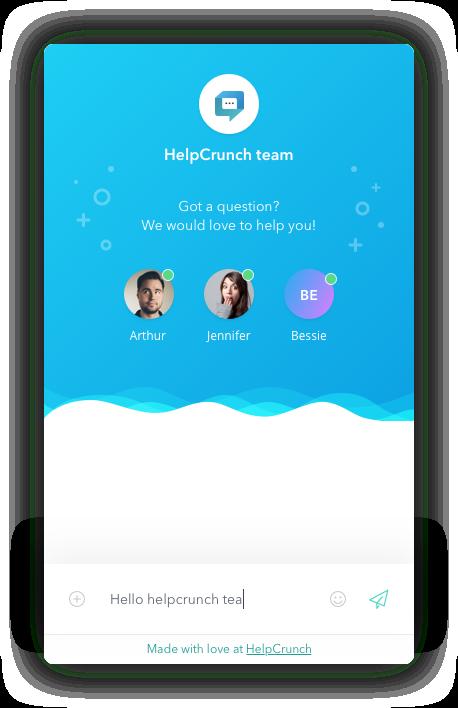 Helpcrunch Chat Widget