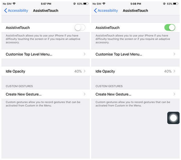 Cara Mematikan iPhone Tanpa Menggunakan Tombol Power di iOS 11