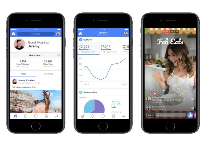 Facebook Takes On YouTube With Its Facebook Creator App