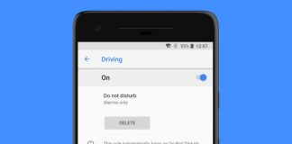 driving do not disturb pixel 2