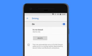 driving do not disturb pixel 2