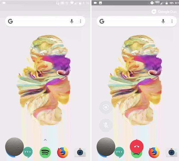 Google Due Screen sharing 2