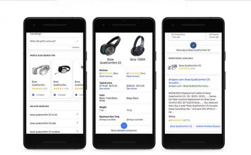 Google Shopping in Search App