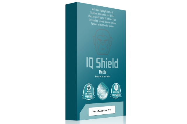 IQShield OnePlus 5T Matte Screen Protector