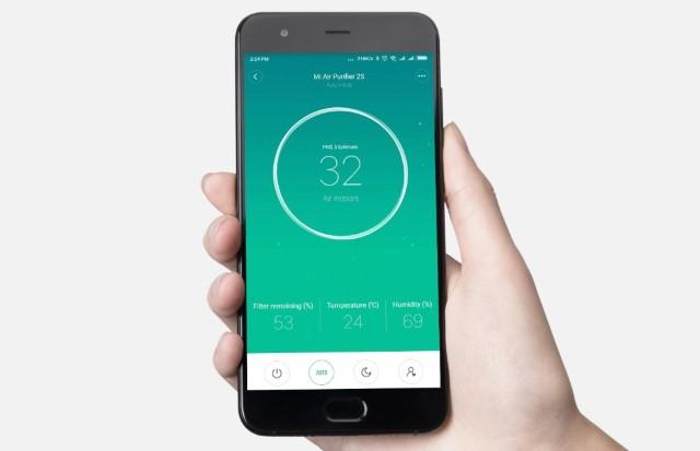 Mi Air Purifier 2S Smartphone control