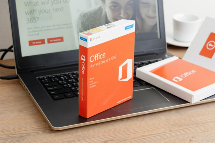 Microsoft Office logo Shutterstock KK