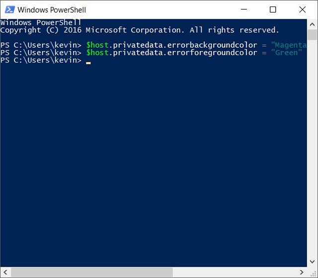 How to Change PowerShell Color Scheme on Windows 10 | Beebom