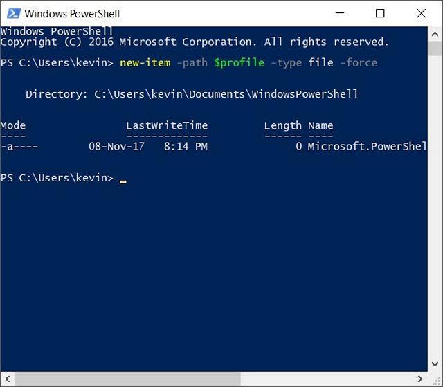 Comment changer le jeu de couleurs Windows PowerShell sur Windows 10