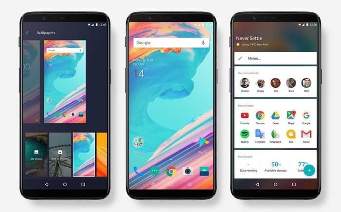 OnePlus 5T Goes Official With 18:9 Display, Improved Cameras and Face Unlock