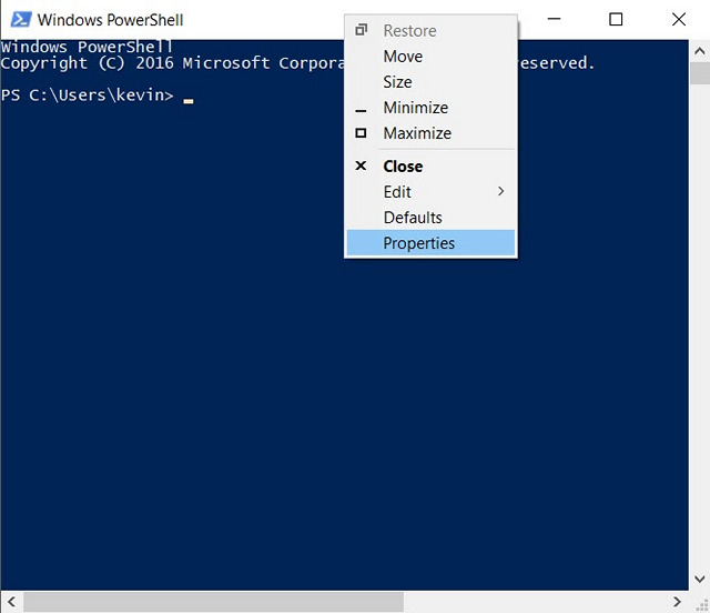 How to Change Windows PowerShell Color Scheme on Windows 10
